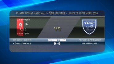 Foot – FCVB vs Boulogne 28/09/2020