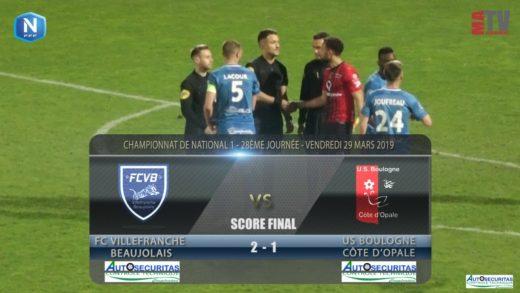 Foot - FCVB vs Boulogne sur Mer