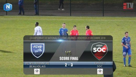 Foot - FCVB vs Cholet  21/12/2018