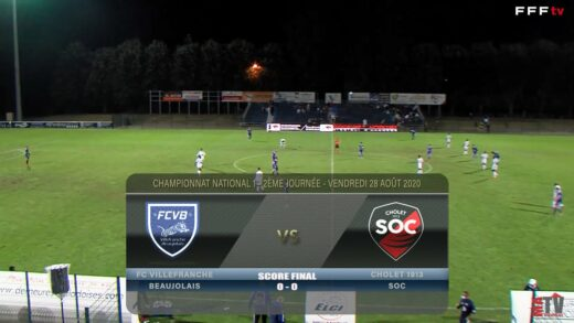 Foot - FCVB vs Cholet SOC 28/08/2020