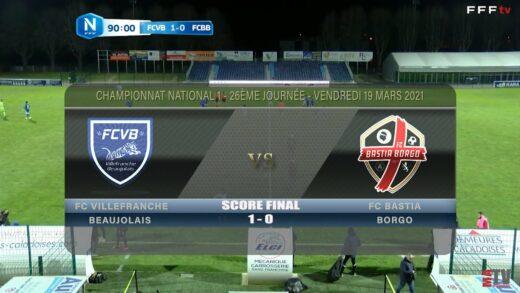 Foot - FCVB vs FC Bastia Borgo 19/03/2021