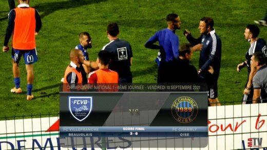 Foot - FCVB vs FC Chambly 10/09/2021