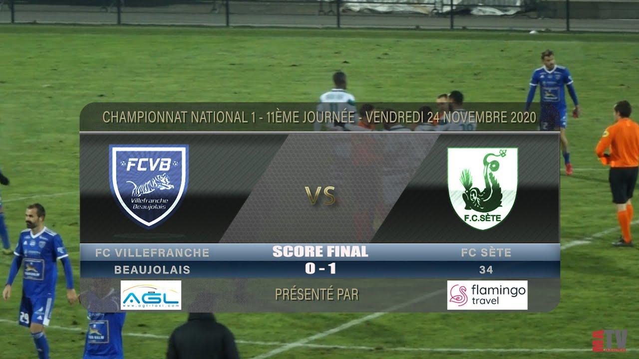 Foot - FCVB vs FC Sète 34 24/11/2020