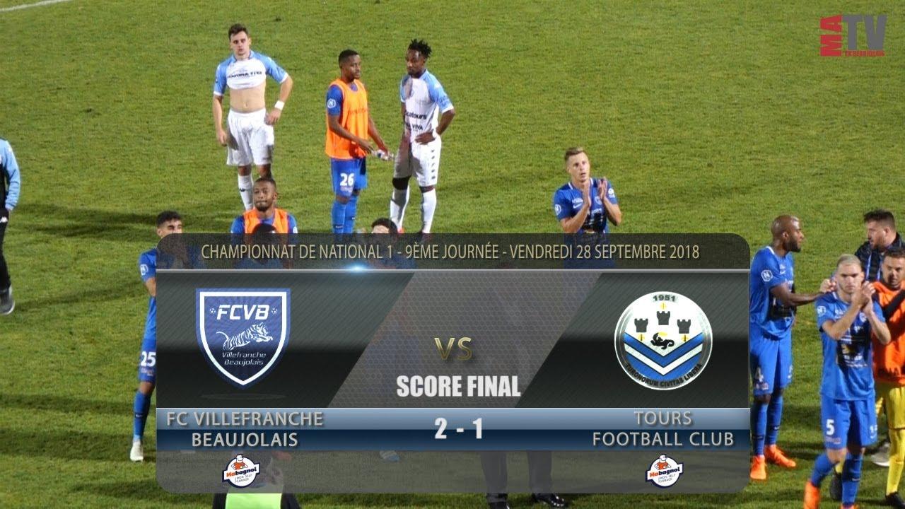 Foot - FCVB vs FC Tours  28/09/2018