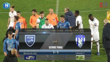 Foot – FCVB vs Jeanne D'Arc Drancy  12/04/2019
