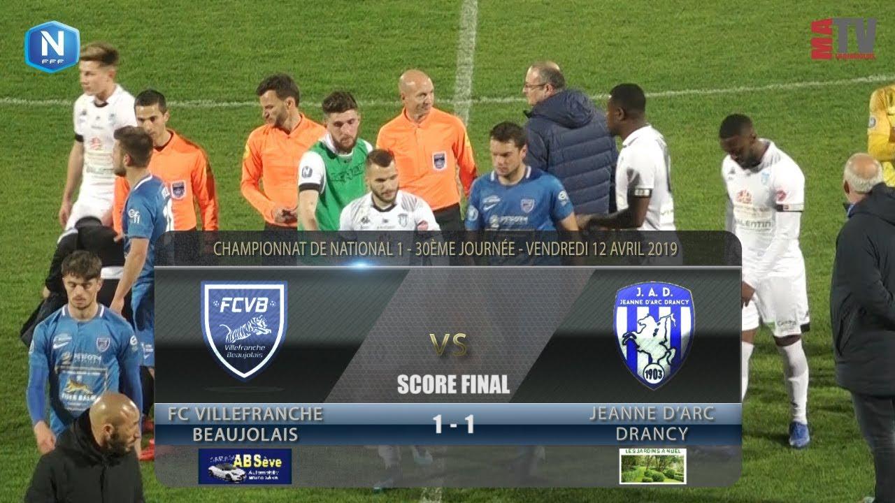Foot - FCVB vs Jeanne D'Arc Drancy  12/04/2019