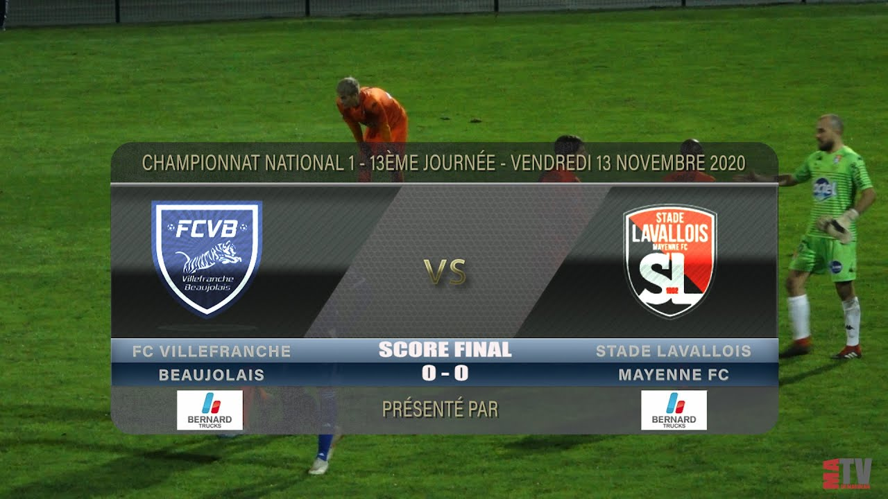 Foot - FCVB vs Laval 13/11/2020