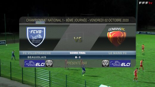 Foot - FCVB vs Le Mans FC 02/10/2020