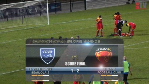 Foot - FCVB vs Le Mans Fc  07/09/2018