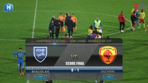 Foot - FCVB vs Lyon Duchère AS  03/05/2019