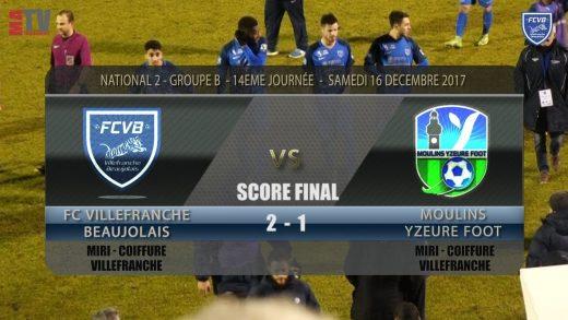 Foot – FCVB vs Moulins – Yzeure 14ème Journée