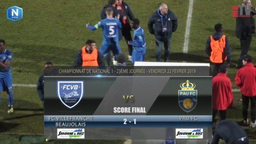Foot - FCVB vs Pau Fc 22/02/2019
