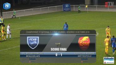 Foot – FCVB vs Quevilly Rouen  19/10/2018