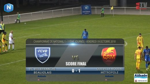 Foot - FCVB vs Quevilly Rouen  19/10/2018