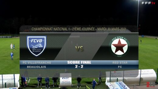 Foot - FCVB vs Red Star FC 30/03/2021