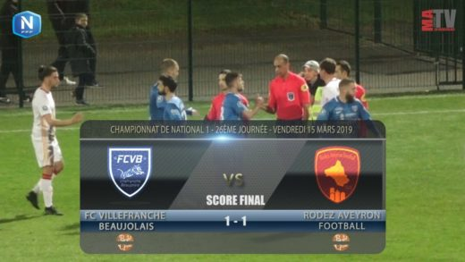 Foot - FCVB vs Rodez Aveyron  15/03/2018
