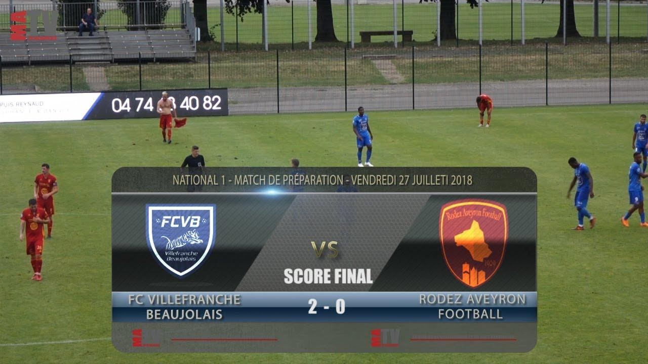 Foot - FCVB vs RODEZ - Match de préparation