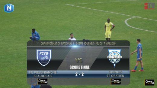 Foot – FCVB vs Sannois St Gratien  17/05/2019