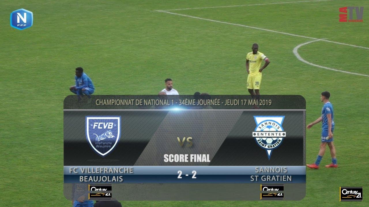 Foot - FCVB vs Sannois St Gratien  17/05/2019
