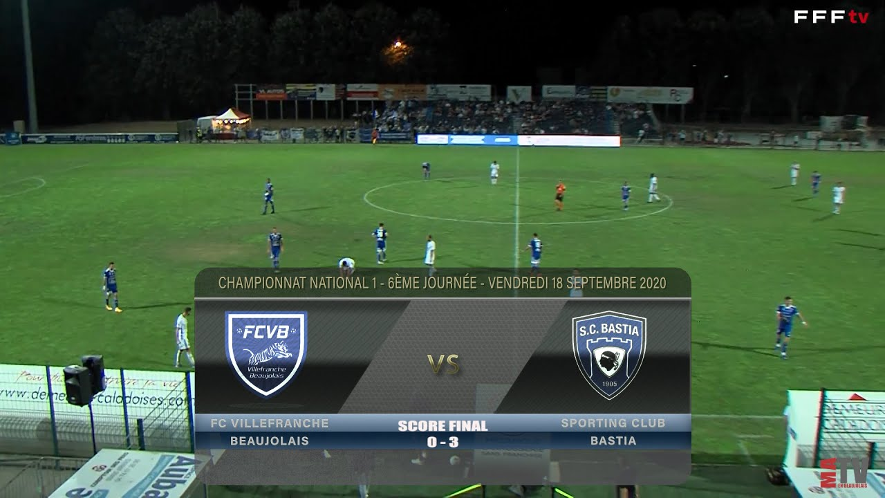 Foot - FCVB vs SC Bastia 18/09/2020