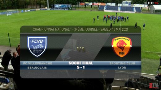 Foot - FCVB vs SC Lyon 15/05/2021