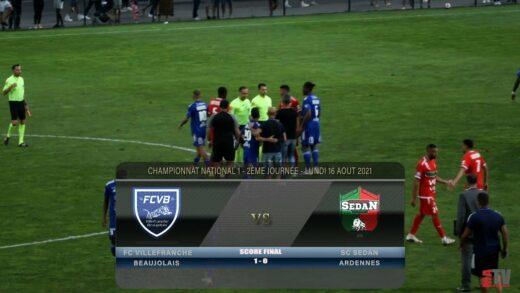 Foot - FCVB vs SC SEDAN 16/08/2021
