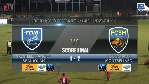 Foot – FCVB vs SOCHAUX  7ème Tour de Coupe de France
