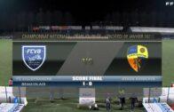 Foot – FCVB vs Laval 13/11/2020