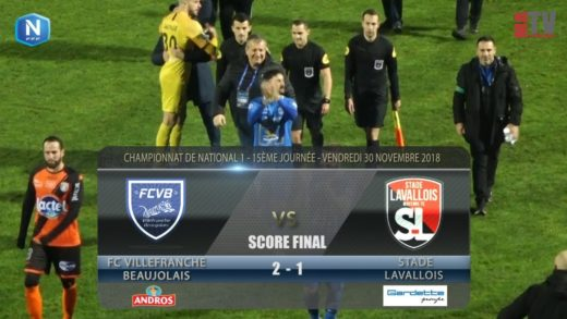 Foot - FCVB vs Stade Lavallois  30/11/2018