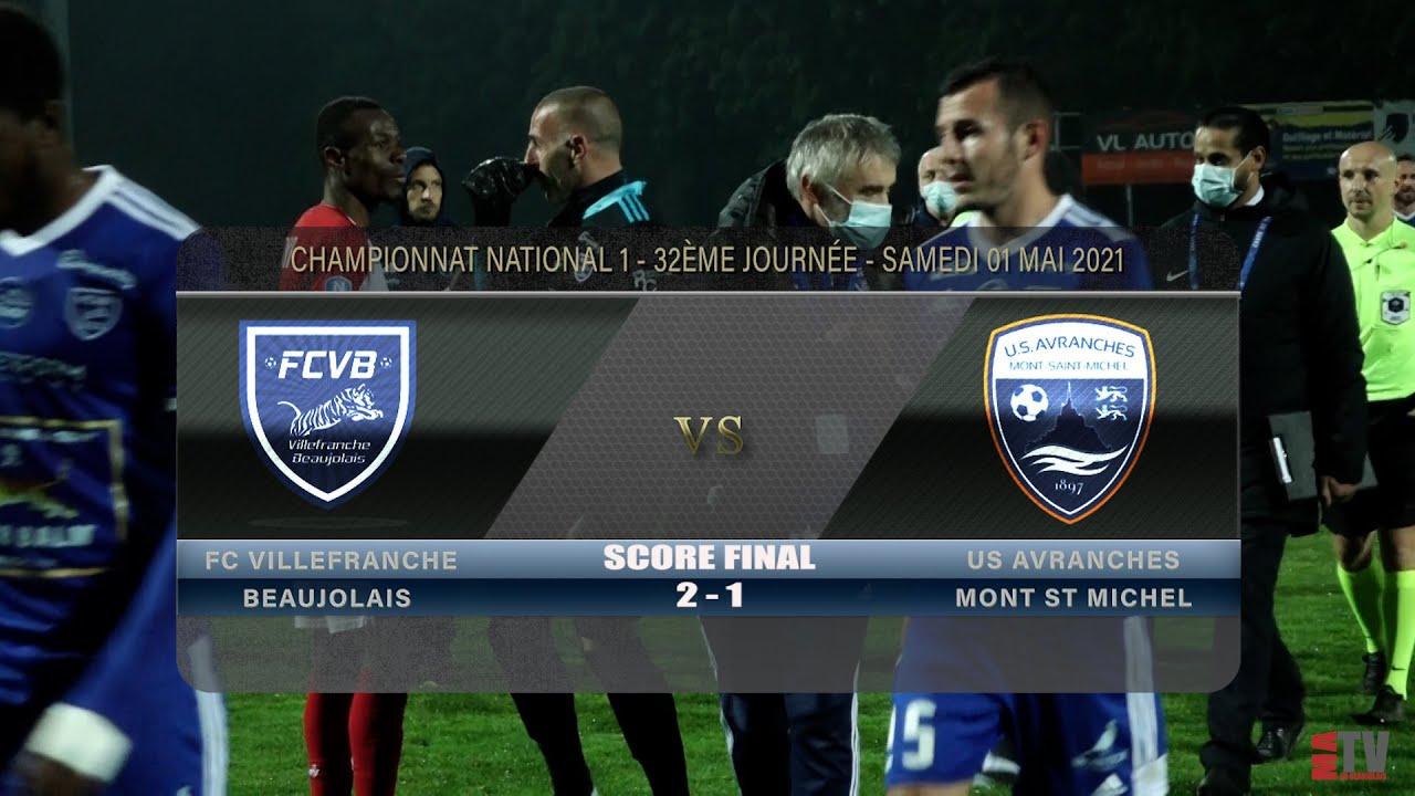 Foot - FCVB vs US Avranches 01/05/2021