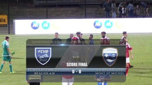 Foot - FCVB Vs US Avranches Mont-Saint-Michel - 24/08/2018