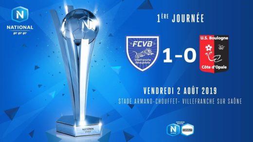 Foot - FCVB vs US Boulogne - 02/08/2019