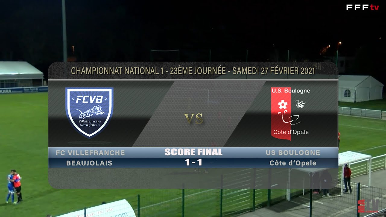 Foot - FCVB vs US Boulogne 27/02/2021