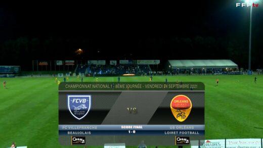Foot - FCVB vs US Orléans 24/09/2021