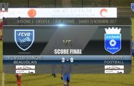 Foot – FCVB vs BELFORT 4/11/2017