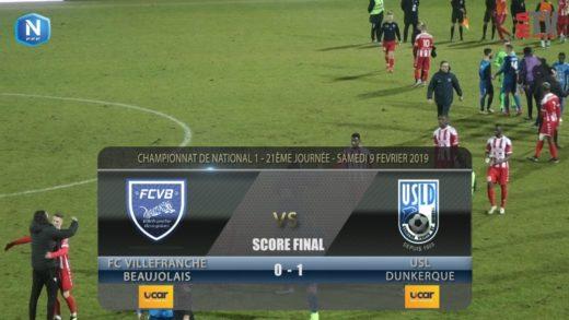 Foot - FCVB vs USL Dunkerque  9/02/2019