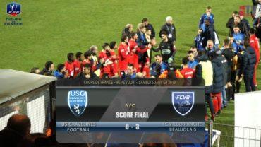 Foot – Gravelines vs FCVB  32ème de Coupe de France