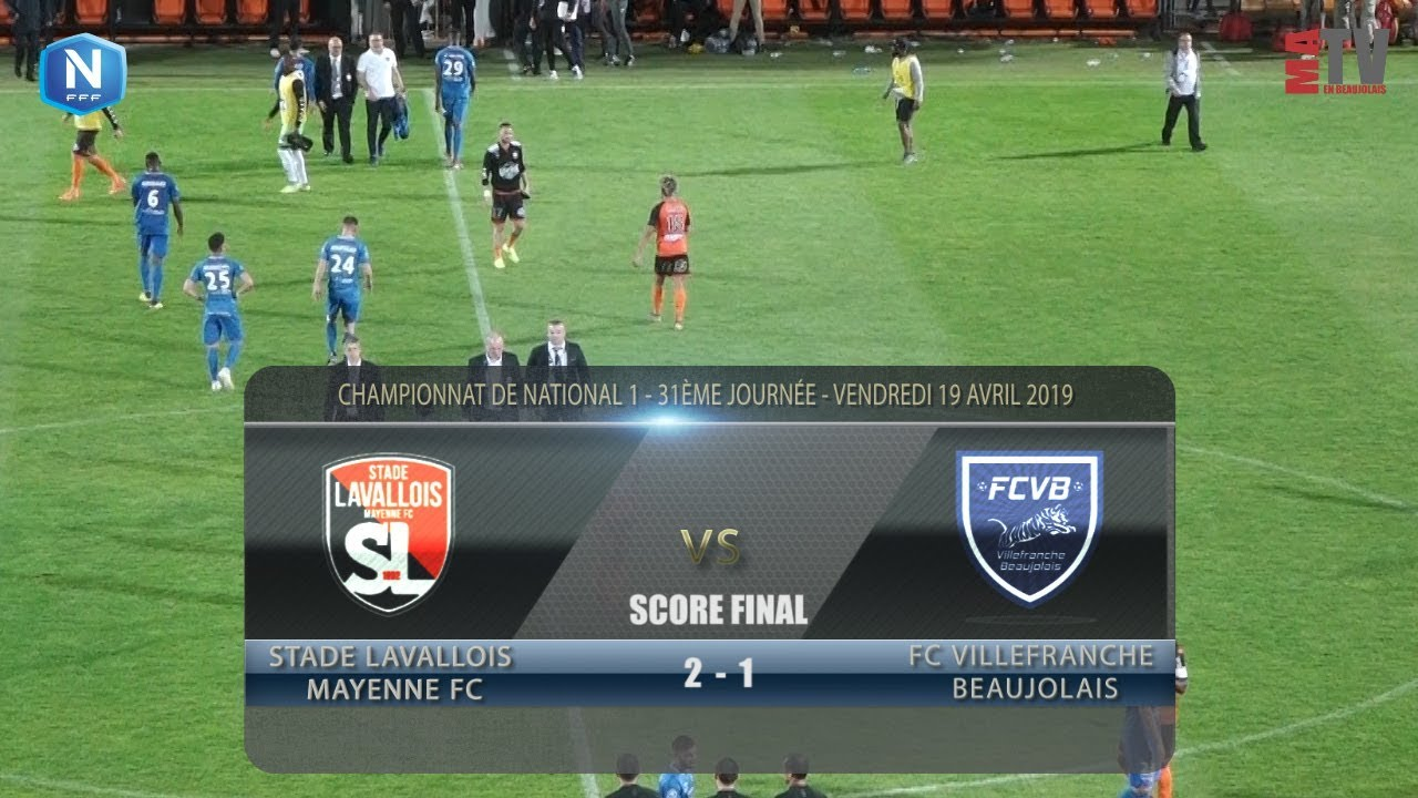 Foot - Laval vs FCVB  19/04/2019