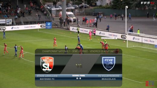 Foot - LAVAL vs FCVB 20/08/2021