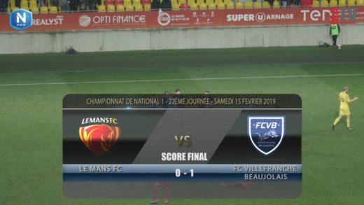 Foot - Le Mans vs FCVB  15/02/2019