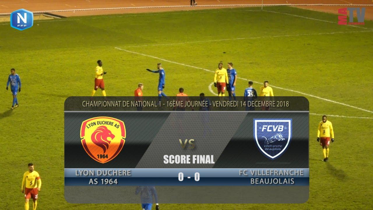 Foot - Lyon la Duchère vs FCVB  14/12/2018
