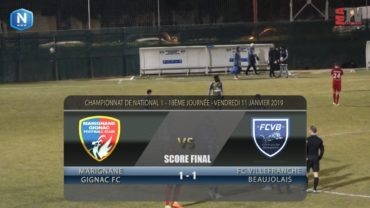 Foot – Marignane vs FCVB  11/01/2019