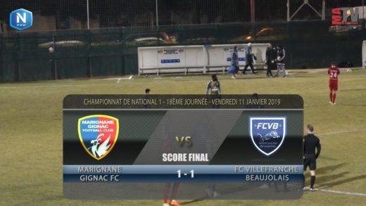 Foot - Marignane vs FCVB  11/01/2019