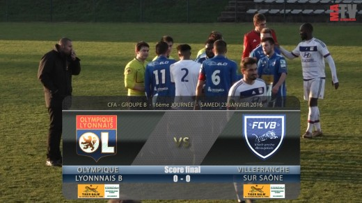 Foot - OL B - FCVB - 23 01 2016