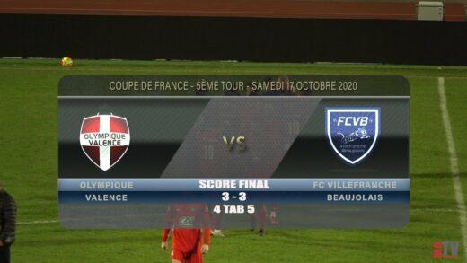 Foot – Olympique de Valence vs FCVB 17/10/2020