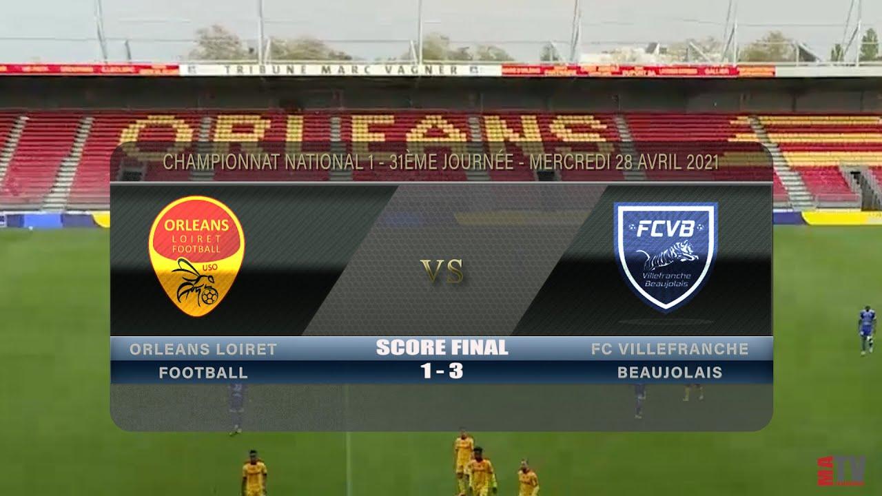 Foot - Orléans vs FCVB 28/04/2021