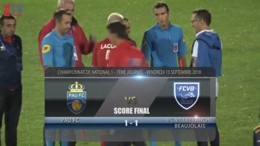 Foot – Pau FC vs FCVB 14/08/2018