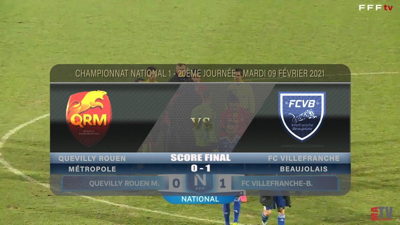 Foot - Quevilly Rouen vs FCVB 09/02/2021