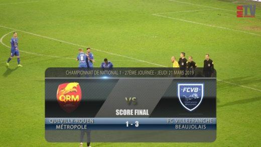 Foot – Quevilly Rouen vs FCVB  21/03/2018