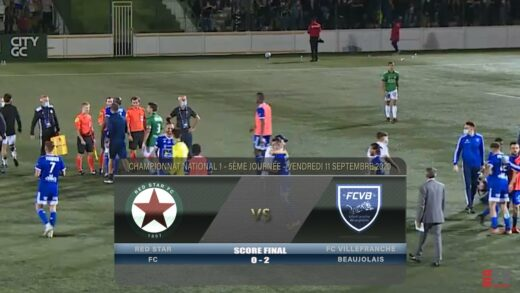Foot - Red Star vs FCVB 11/09/2020
